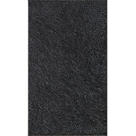 Плитка керамічна Fluid чорна матова  5082 23*40 см