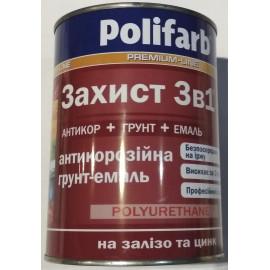 Фарба грунт/мет. чорна