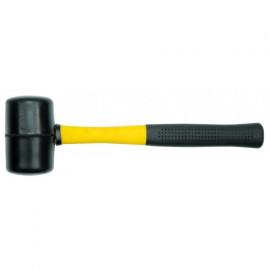 Молоток гумов. з склопластик. ручкою, m=1кг, D-66мм /33905/