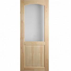 Дверне полотно МДФ напвіскло 70 +скло