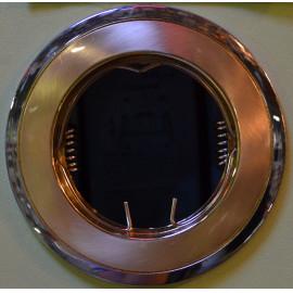 Св.точеч. DELUX HDL 16002 MR16 12V зол.мат.-хром
