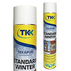 Піна монтажна Tekapur Standard Winter GUN750мл /12-516/ 45л