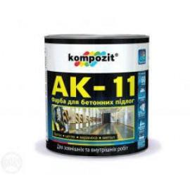 Фарба акрилова АК 11 сіра 2,8кг
