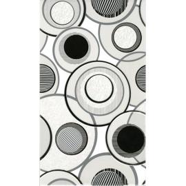 Плитка керамічна Fluid білий декор 5061-1 23*40 см