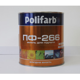 Фарба д/п жов.кор ПФ-266  Поліфарб 0,9